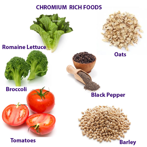 CHROMIUM RICH FOODS