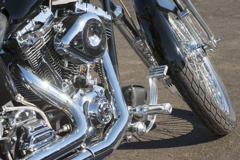 motorcycle Chromium