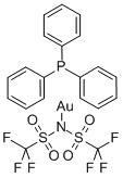 [Bis(trifluoromethanesulfonyl)imidate](triphenylphosphine)gold(I),98%
