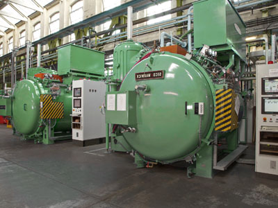 Vacuum-furnace application