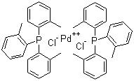 Trans-dichlorobis(tri-o-tolylphosphine)palladium(Ⅱ)