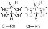 Norbornadiene Rhodium(I)Chloride Dimer