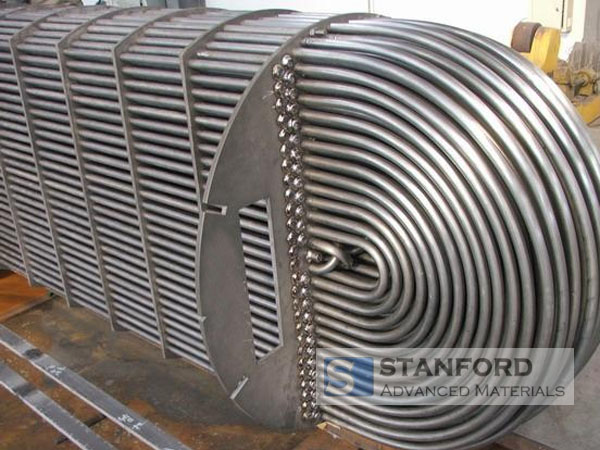 application of titanium tubes