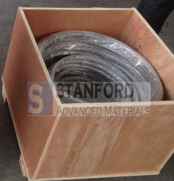 Titanium coiled wires packaging