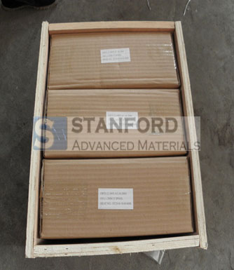 Titanium welding wires packaging