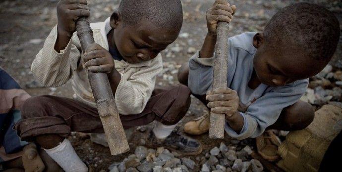 child labor in mining