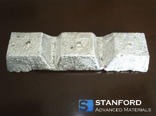 lanthanum nickel alloy ingots