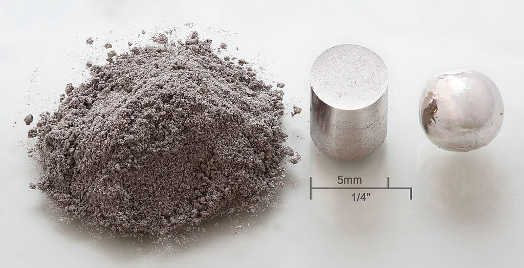 metal-powder-pressed-melted-pellet