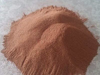 copper powder for thermal spraying