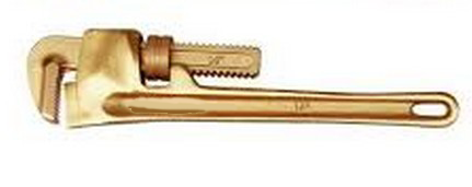 BE0946 Beryllium Copper Spark-Proof Heavy-duty Pipe Wrench