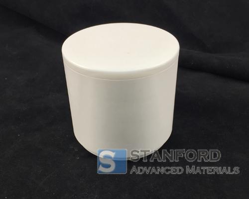 YSZ1165 500mL Yttria Stabilized Zirconia Jar with Lid
