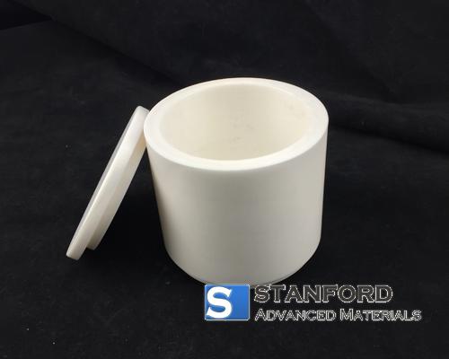 YSZ1166 1000mL Yttria Stabilized Zirconia Jar with Lid