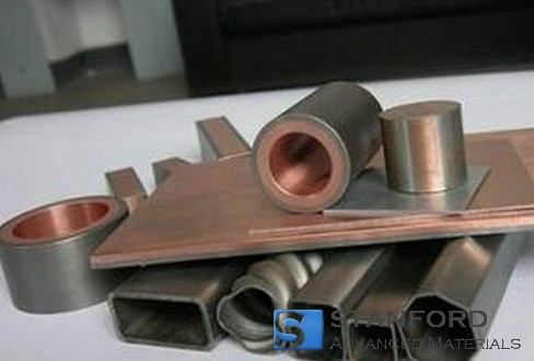 CLD1926 Zirconium Clad Copper Parts (Zr Clad Cu Parts)