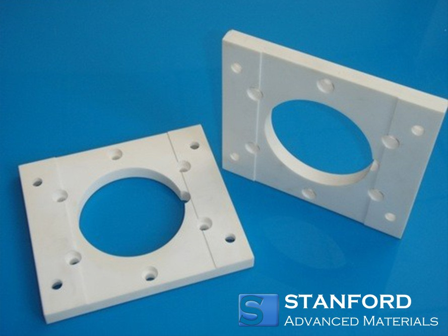 NR2081 Aluminum Nitride Custom Machined Parts