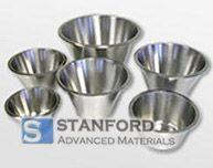 NBZ0048 Niobium Zirconium Alloy Crucibles / Cups