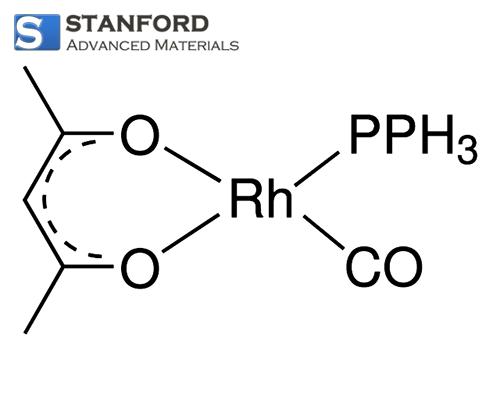 RH2452 Acetylacetonato Carbonyl Triphenylphosphine Rhodium Powder CAS 25470-96-6