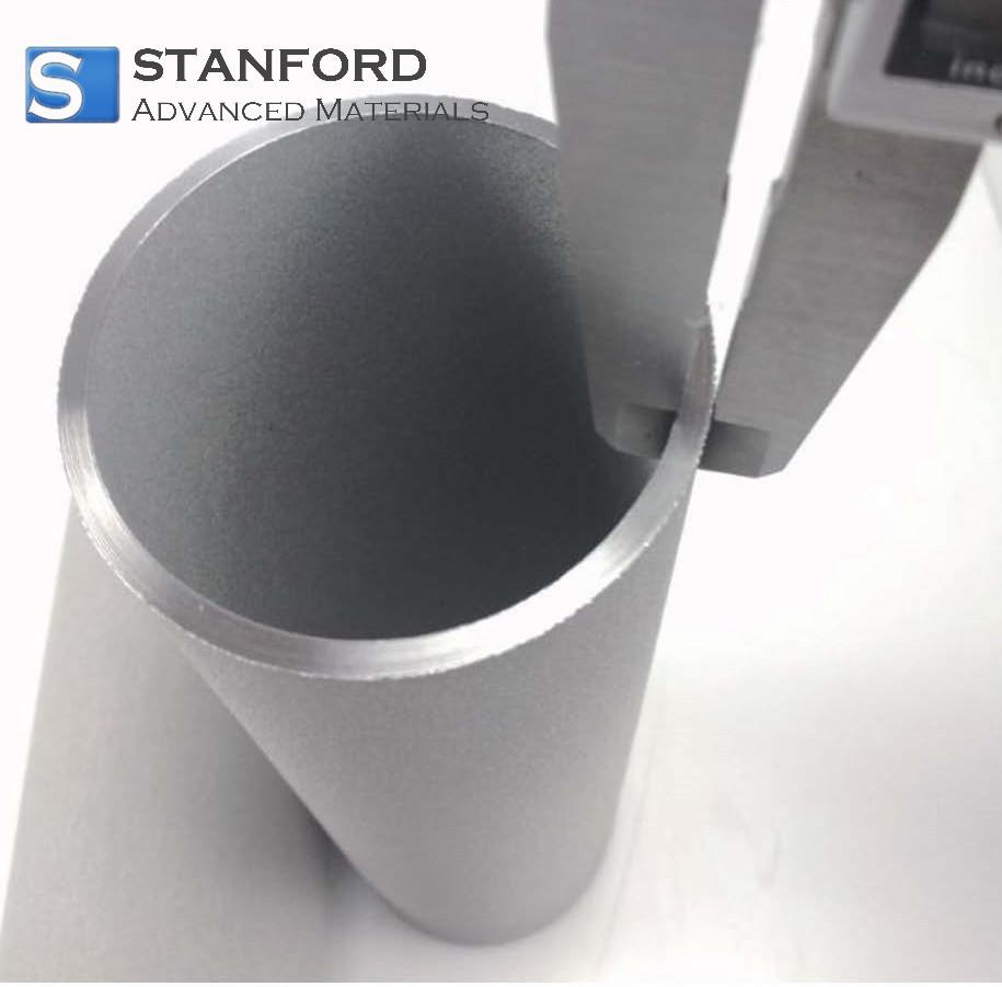 FG2745 Titanium Sponge Powder Sintered Tube Filter
