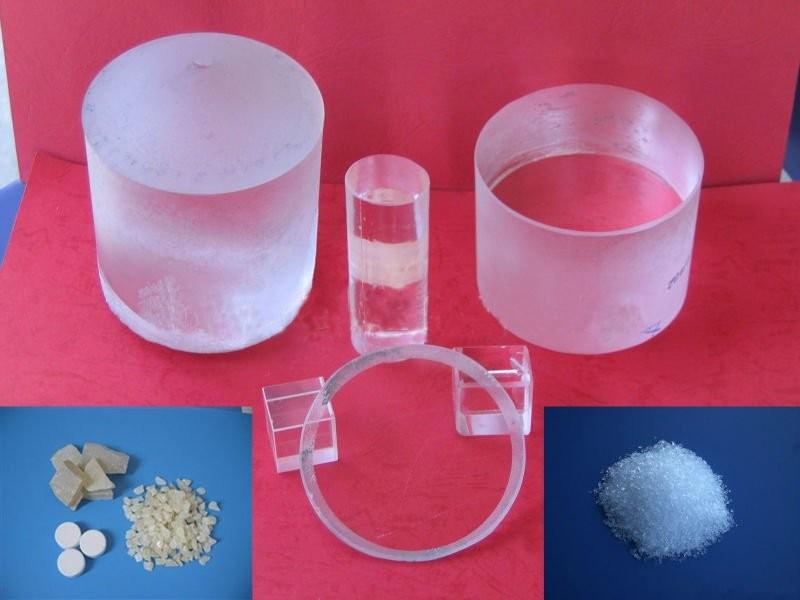 CY0104 Magnesium Fluoride Crystal (MgF2 Crystal)