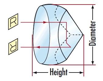 OP509 Corner Cubes Retroreflectors